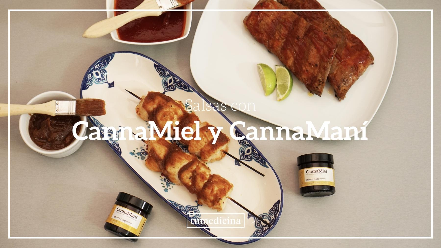 Tu Receta: Salsa BBQ Con CannaMiel Y CannaManí
